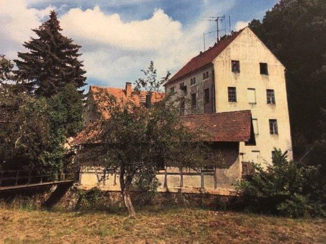historische Mühle für Liebhaber