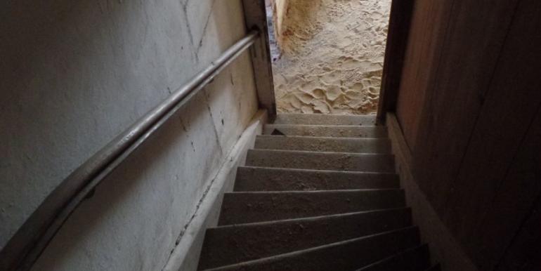 Treppenaufgang nach oben