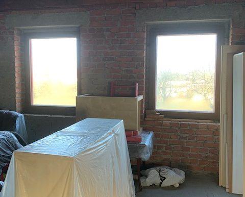 Giebelseite Fenster DG