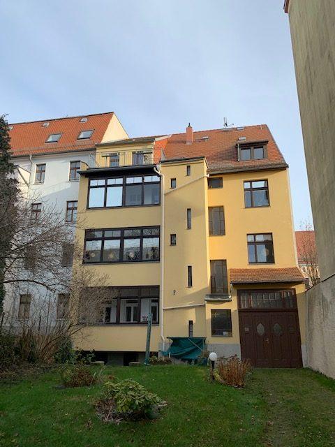 Attraktive 4-Raum-Wohnung mit Balkon, Garten, Stellplatz im Herzen der Stadt