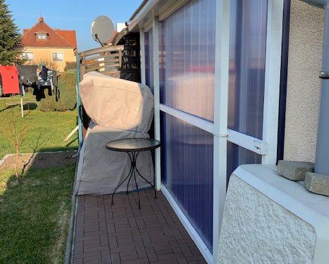 überbaute Terrasse