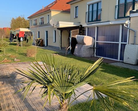 Gartenbereich mit Terrasse