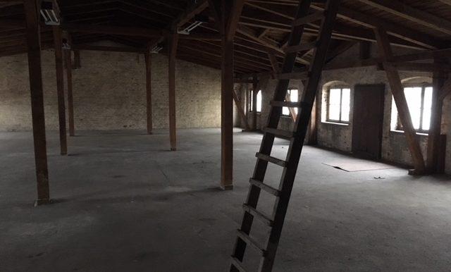 Dachbereich Bürohaus