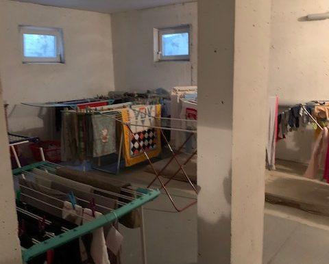 Wäschetrockenraum