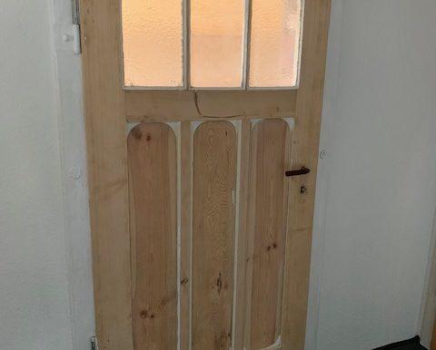 abgeschliffene Türen