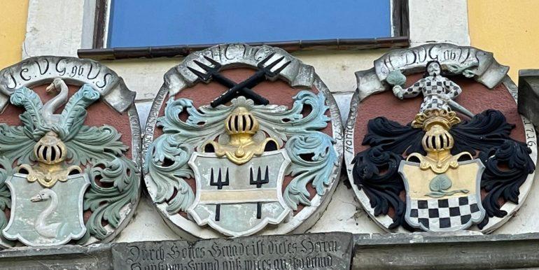 Drei Wappen