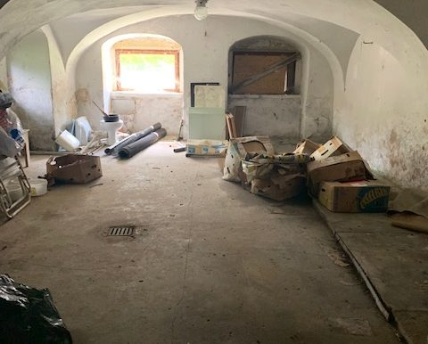Kellerraum Kreuzgewölbe
